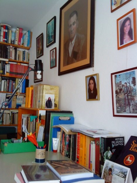 Pared de estudio