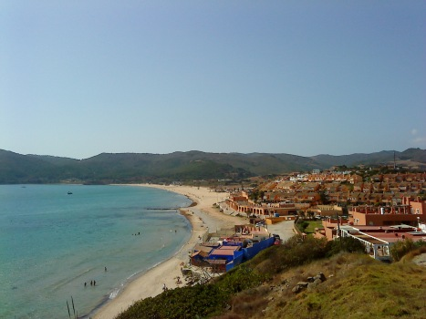 Playa de Getares (hoy)